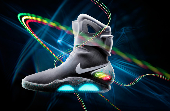 Nike releases famed 'Back to the Future' shoe