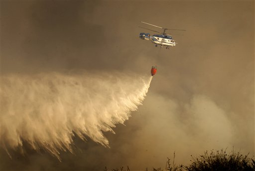 Spain Forest Fire