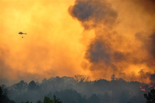  Texas Wildfires