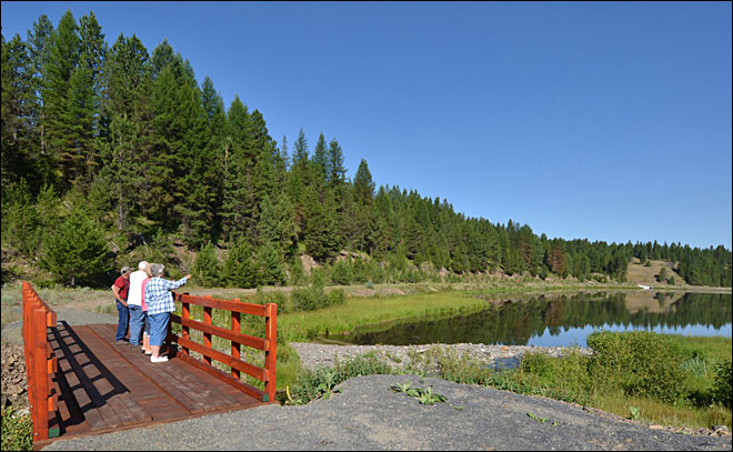 Former lumber mill site Oregon's newest state park