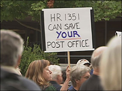 Workers rally to save the U. S. Postal Service
