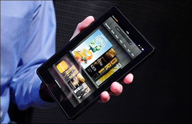 Amazon says Kindle Fire is 'sold out'