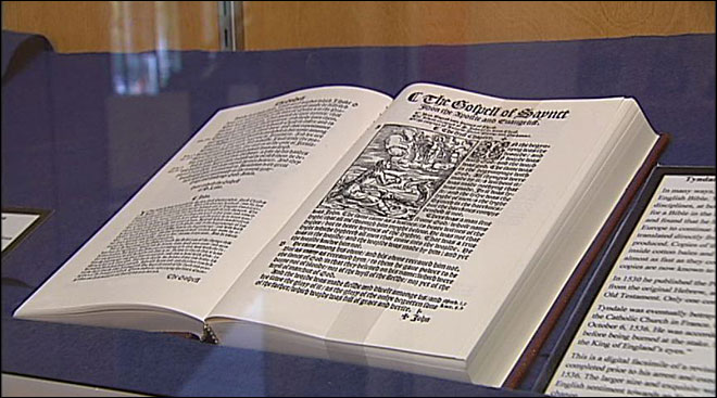 Exhibit in Eugene honors 400 years of the King James Bible