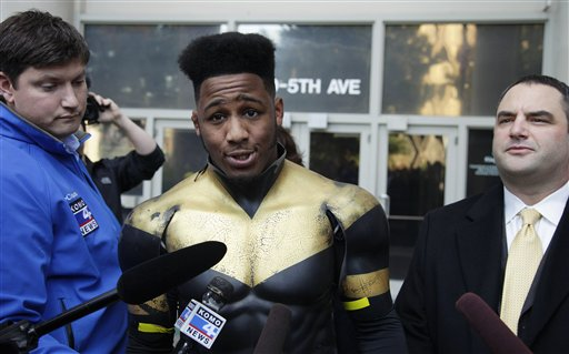 Seattle Superhero Arrest