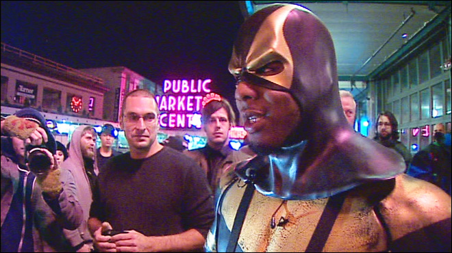 Seattle superhero back on patrol after revealing secret identity