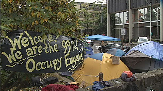 Market moves across street as tent city weighs weekend plans