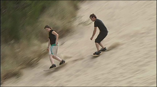 Florence: 'The center of the sandboarding world'