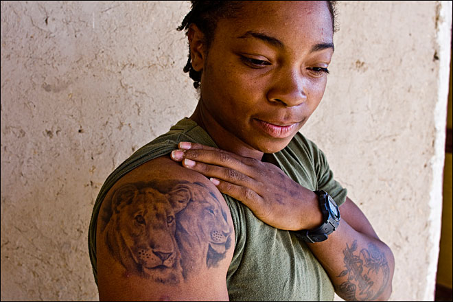 Marines in Afghanistan explain their tattoos