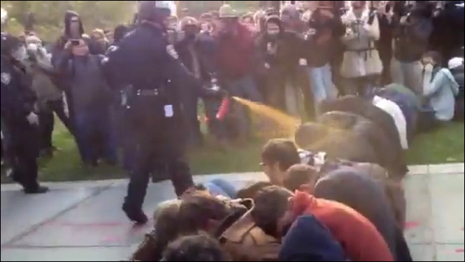 U of California to pay pepper-sprayed Occupy protesters