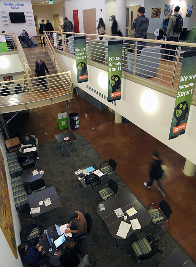 Oregon's fastest-growing campus also one of the smallest