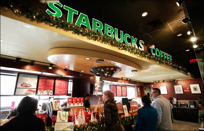 Starbucks to offer wireless charging pads