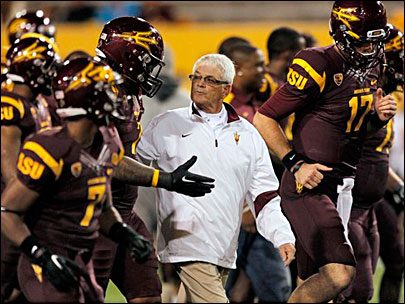 ASU official: Erickson out as Sun Devils coach 
