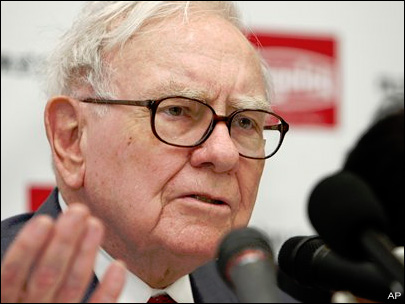 Buffett says general economy slowing this summer