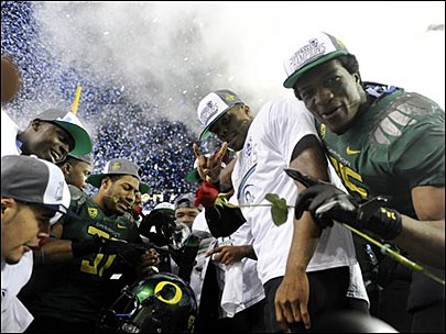 Ducks win third straight conference title; return to the Rose Bowl