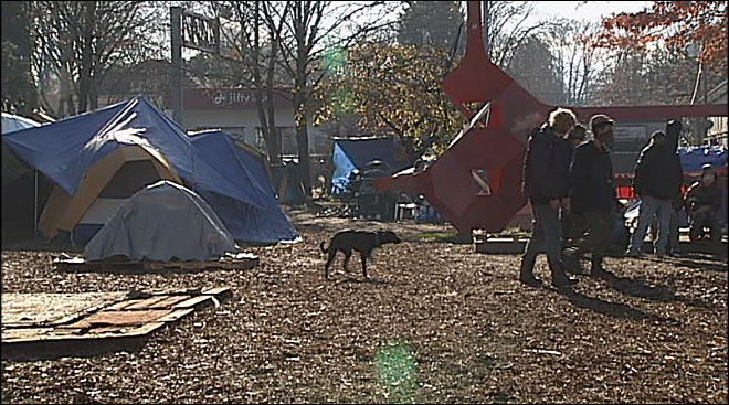 Over $100K spent on Occupy Eugene by city, police
