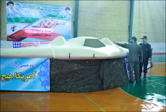 Source: Iran video shows lost U.S. drone