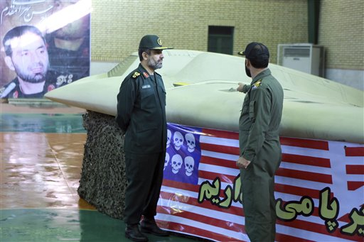 Mideast Iran US Drone