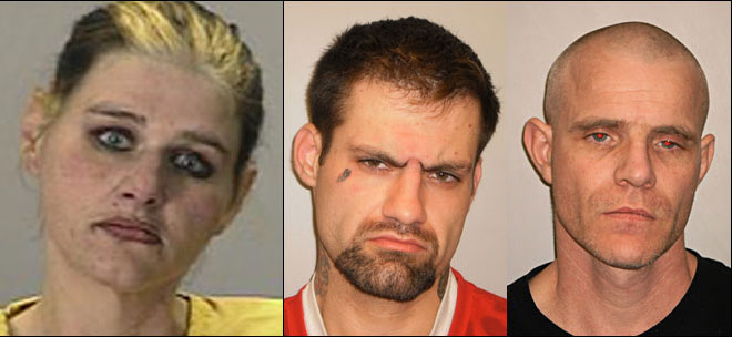 Meth-fueled murder sends 3 to prison