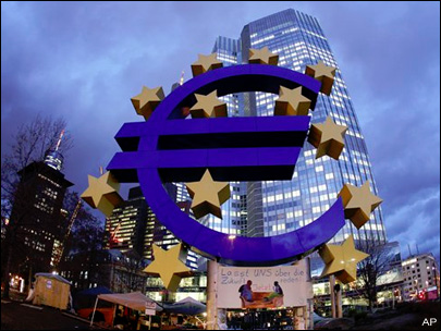 As eurozone economy shrinks, govt debt loads grow