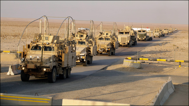 Images: The last U.S. troops to leave Iraq