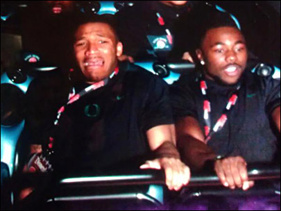 LaMichael is a tough guy, unless he's on Space Mountain