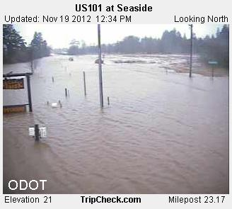 ODOT camera south of Seaside