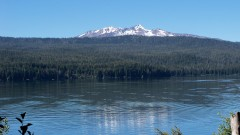 Odell Lake and Diamond Peak