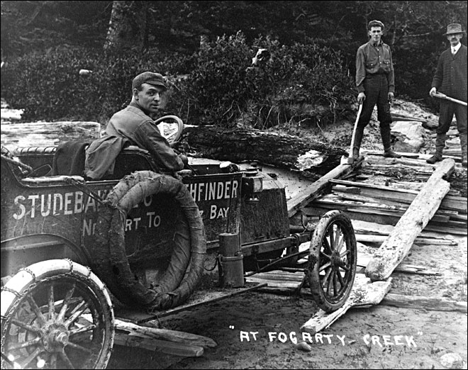Off-roading in Oregon 100 years ago