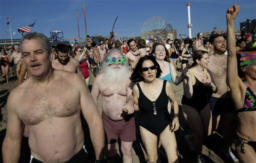 Coney Island Polar Bear Swim