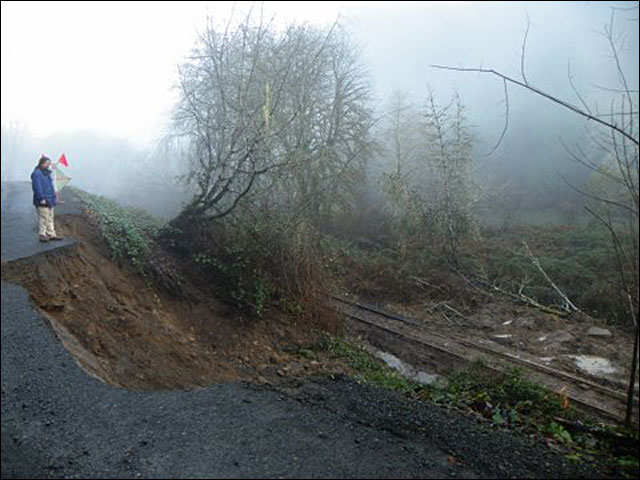 Photos: Stagecoach Road still washed out