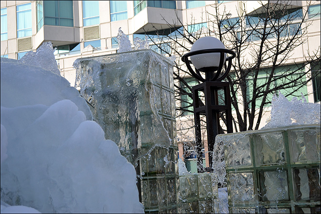Frozen Water Fountains