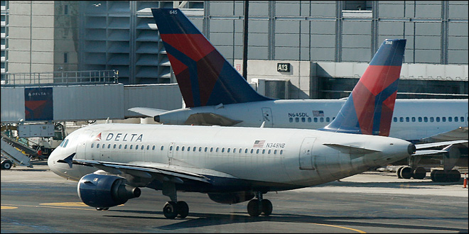 Delta Air Lines clings to $7 million profit in 4Q