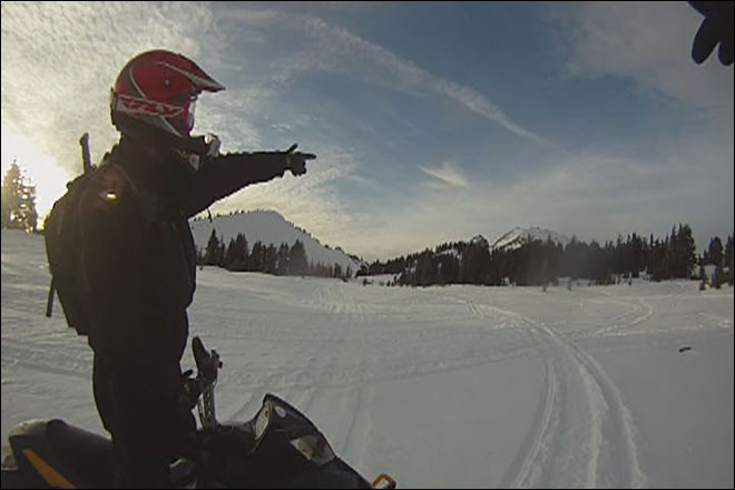 Extreme Katie: Snowmobiling