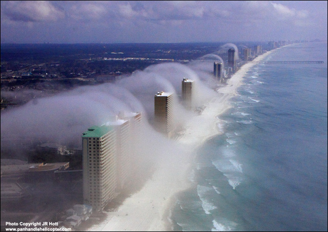Condo Fog from Panama City, Fla.