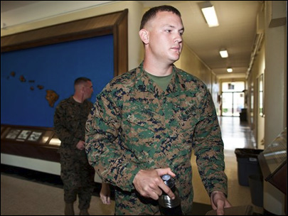 Marine sergeant not guilty in hazing case
