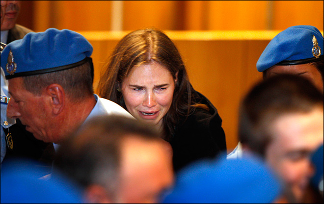 Italy's high court bashes Amanda Knox acquittal