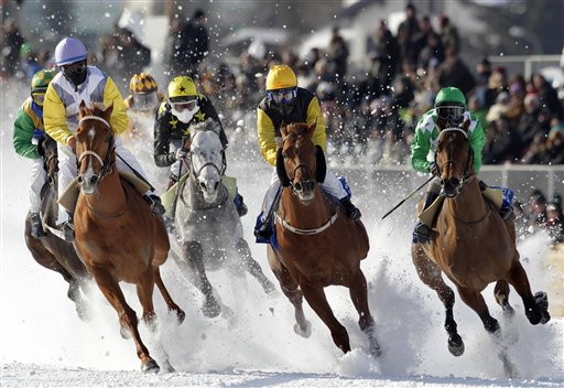 Switzerland White Turf Race