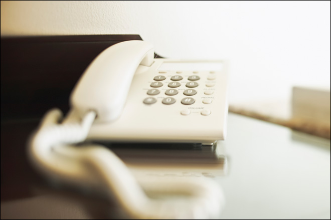 How to block annoying automated phone calls
