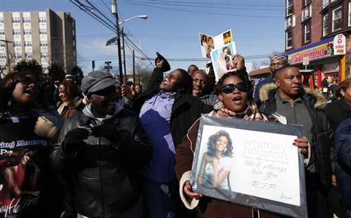 Whitney Houston Funeral