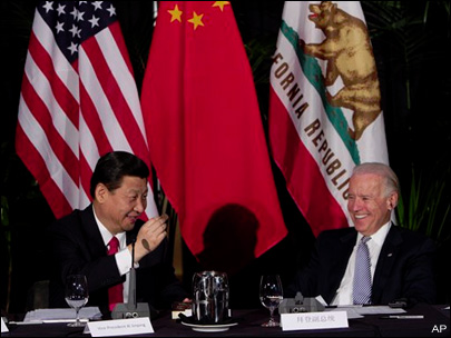 Chinese leader Xi, Biden promote trade in L.A.