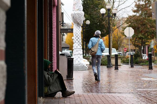 Homeless in Eugene