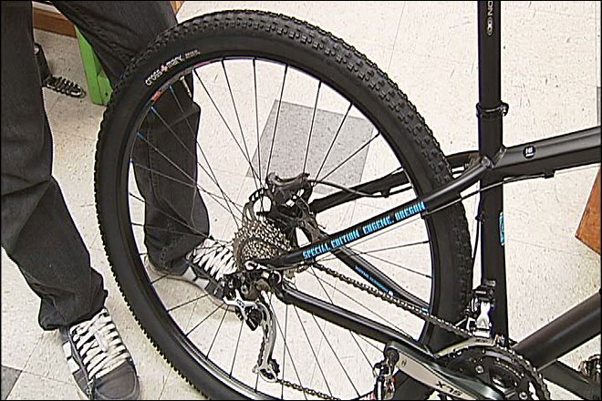 Eugene 'special edition' mountain bike made for local trails