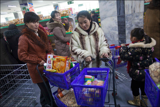 N. Korea opens its own version of Walmart, thanks to China