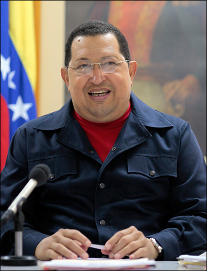 Chavez: American man detained in Venezuela