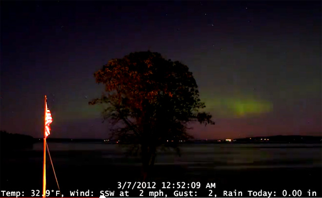 Watch: Northern Lights dance over Pacific Northwest