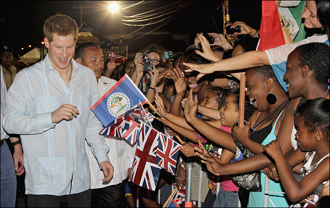 Belize Royal Harry