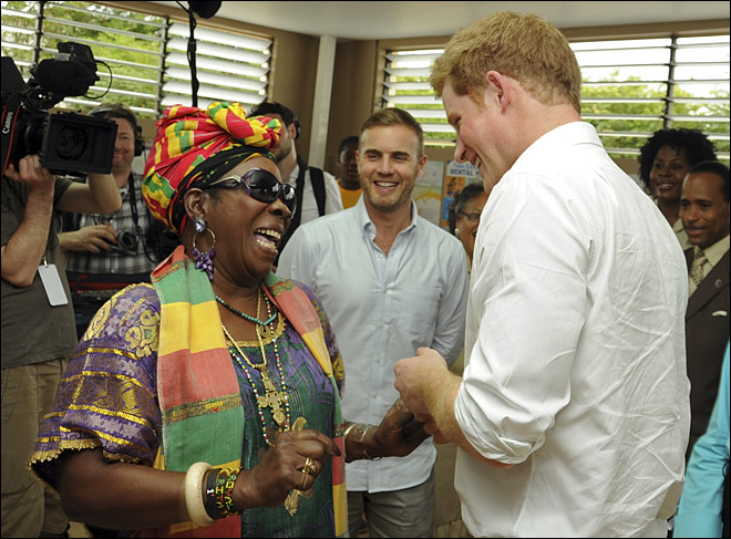 Jamaica Prince Harry
