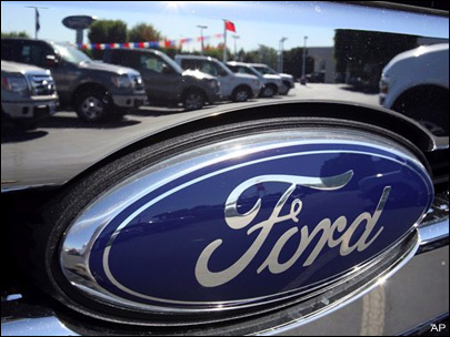 Ford doubles dividend to 10 cents