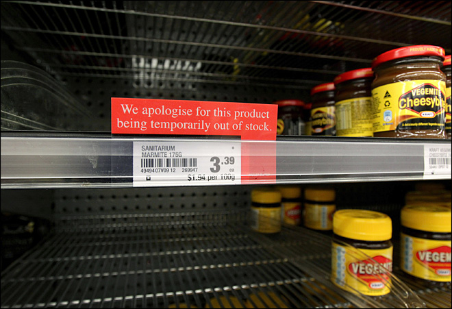 Marmageddon: New Zealand runs out of unique spread