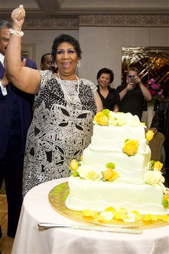 Aretha Franklin Birthday Party